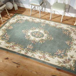 Royal Aubusson Rug Green