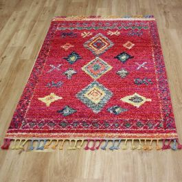 Royal Marrakech Rug Red Lilac 2208B