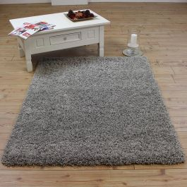 Silver Shaggy Rugs UK Mix