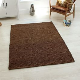 Brown Jute Soumak Rugs
