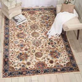 Traditional style Lagos Rug LAG04 Cream