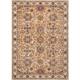 Traditional style Lagos Rug LAG04 Natural