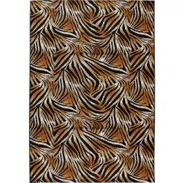 Tropicana Rug with Tiger Print Patterns