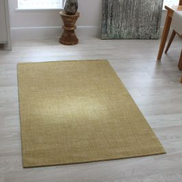 Ochre Colour Tweed Rugs
