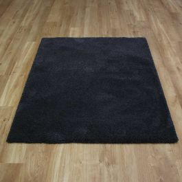 Washable Rugs Cosy Dark Grey