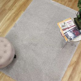Washable Rugs Cosy Light Grey