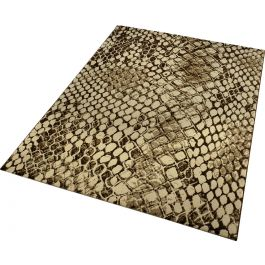 WECON Home Snake Brown Rug