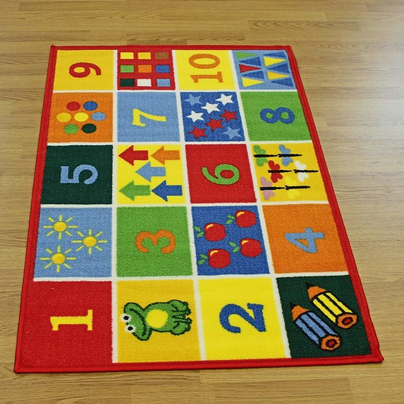 Childrens Rugs Numbers For Learning