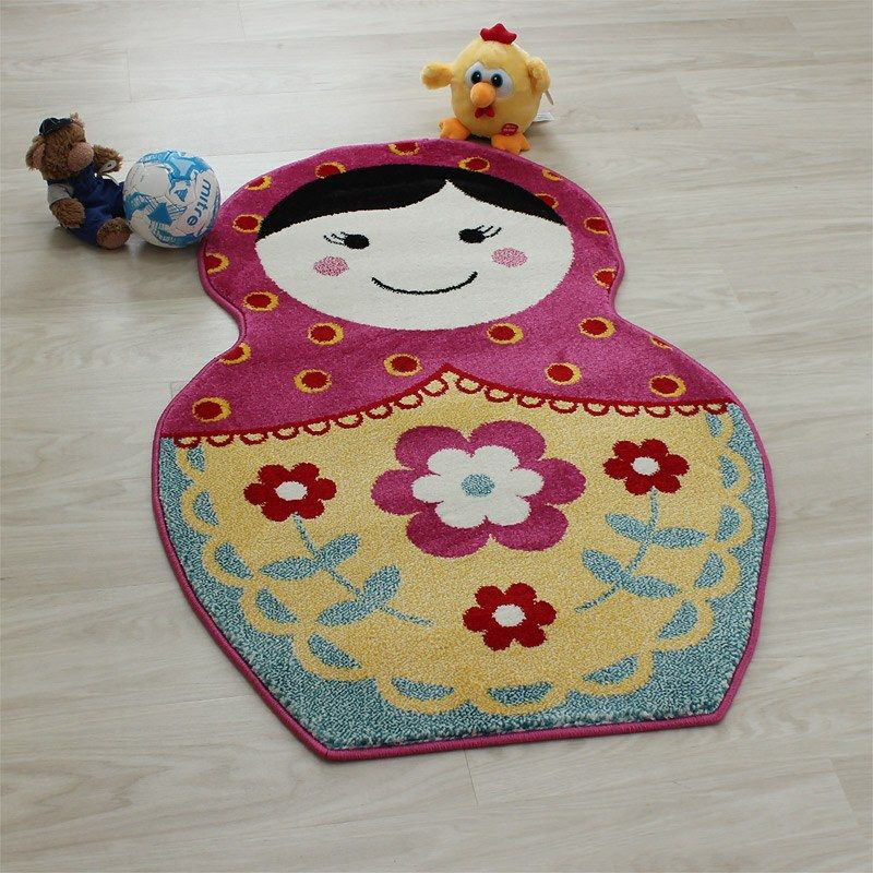 Russian Doll Kids Play Rug For