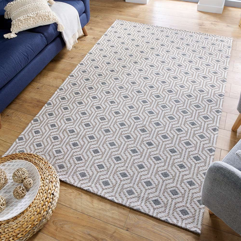 Ax Grey Geometric Rug Land Of Rugs