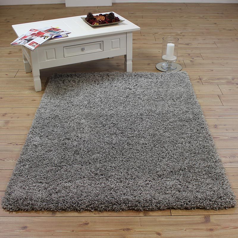 Silver Shaggy Rugs Uk Mix Online