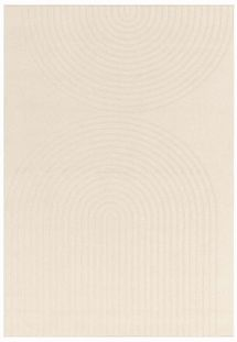 Antibes Outdoor Rug White Deco AN08