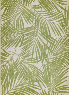 Sale Outdoor Patio 15 Green Palm Rug 160x230