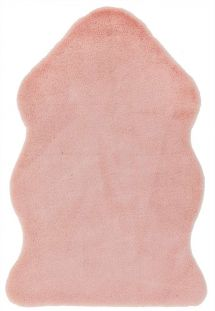 Willow faux Fur Pink Rug