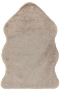 Willow faux Fur Taupe Rug