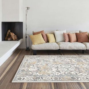 Canyon Rug Biscuit Rust Ivory 52042 6616