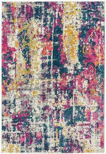 Colt Rug CL01 Abstract Multi