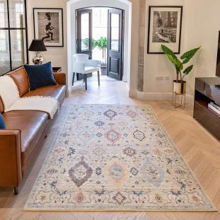 Heritage HRTG102 Ivory Multi Rug by Concept Looms