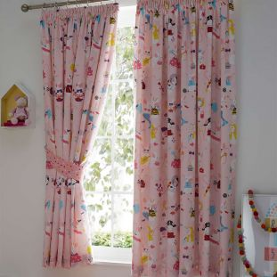Lets Play Pencil Pleat Curtains