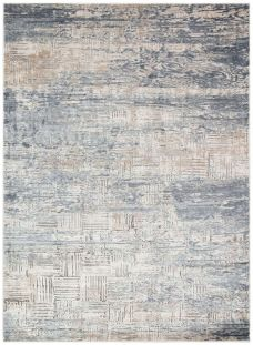 Luzon LUZ805 Blue Ivory Rug by Concept Looms