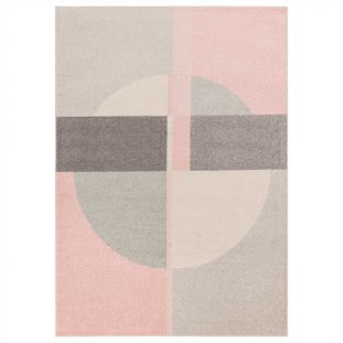 Muse Rug 21 Abstract Pink