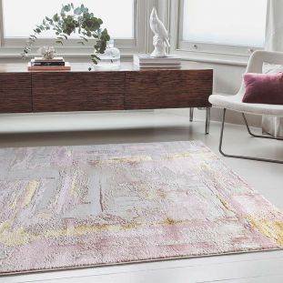 Sale Orion OR01 Decor Pink Modern Abstract Rug 080x150
