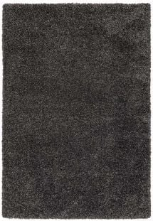 Ritchie Shag Pile Rug Charcoal