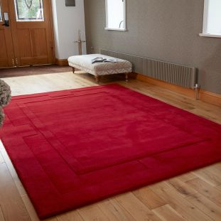 Apollo Red Wool Rug