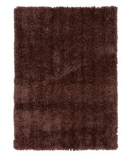 Spiral Rug Shaggy Taupe