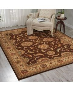 Living Treasures Rug Brown LI04