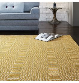 Yellow Rugs Gold Coloured Rug More Land Of