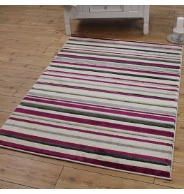 Purple Striped Rugs For Land Of