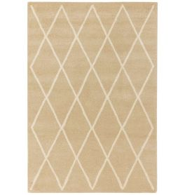 On Sale Albany Rug Diamond Sand Wool 120x170cm