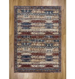 Alhambra Rug Antique Ivory Red 6576A