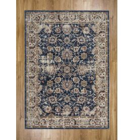 Alhambra Rug Antique Lt and Dark Blue 6549A