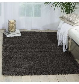 Amore Dark Grey Shaggy Rug