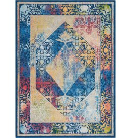 Ankara Global Rug ANR04 Classic Blue Multi