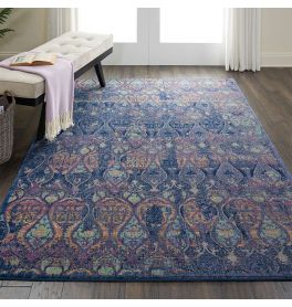 Ankara Global Rug ANR08 Vintage Navy Multi