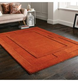 Apollo Rust Wool Rug