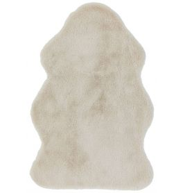 Willow faux Fur Honey Rug