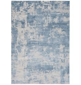 On Sale Astral Medium Rug AS04 Blue 3D Abstract Style 160x230cm size