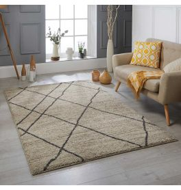 Atlas 561 J Cream Tribal Rug