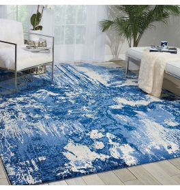 Blue Ivory Twilight Rug Paint TWI24