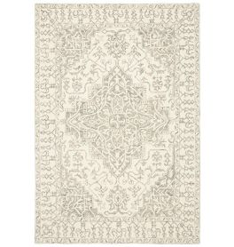 Bronte Traditional Indian Rug Smoke