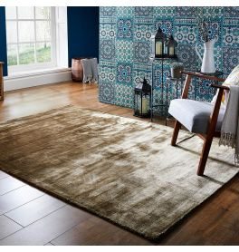 Cairo Rug Bronze Colour