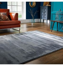 Cairo Rug Silver Colour