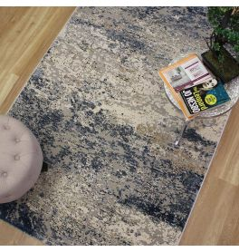 Large Canyon Rug 160x230cm Blue Grey Sand