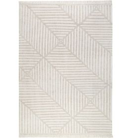 Carpets & Co Irregular Fields Beige Rug
