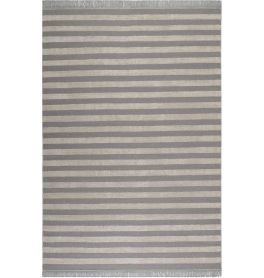 Carpets & Co Noble Stripes Grey-Ice Blue Rug