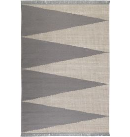 Carpets & Co Smart Triangle Grey-Ice Blue Rug